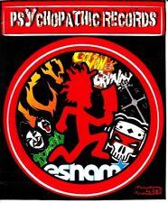 Psychopathic Records Sticker ICP Insane Clown Posse