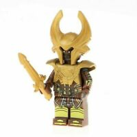 NEW Heimdall Minifigure, Marvel Comics Thor Ragnarok Asgard Custom For Lego