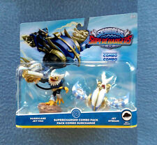HURRICANE AND JET-VAC COMBO PACK 3 INCHES TALL SKYLANDERS SUPERCHARGERS