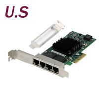 Intel OEM I350-T4 PCI-Express Four RJ45 Gigabit Ports Server Adapter NIC