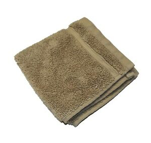 New Hotel Collection Dune Taupe Micro Cotton Wash Cloth Face Towel 13 x 13