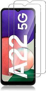 2X Schutzglas Glasfolie für Samsung Galaxy A22 5G Display Schutz Panzerfolie 9H
