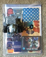 Transformers Class Titans Return Fortress Maximus Cerebros Spike Sticker Sheet