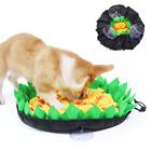 Pet Dog Snuffle Mat Sniffing Pad Puzzle Toy Nose Training Blanket Washable UK