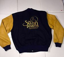 RARE The Swan Princess Animated Cast Crew Movie Prop Jacket Film Rich Studios XL