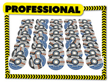 25x CUTTING DISCS 125x1x22 125mm ANGLE GRINDER ULTRA THIN METAL INOX APPROVED