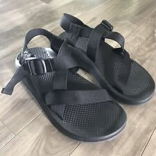 Chaco Sandal Hiking Black Adjustable Strap EUC M8 Mens 8