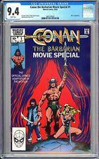 Conan the Barbarian Movie Special #1 CGC 9.4 WP 1982 3802375003 Movie Adaptation
