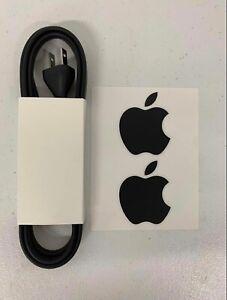 New! Genuine Apple Mac Mini 6ft 2011 2012 2014 2018 Black AC Power Cord TV