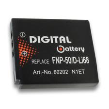 Batteria 3,7V 900mAh per Fujifilm Finepix F500exr,F505exr,F50fd,F550exr