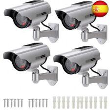 Cámara Falsa Cámara de vigilancia Falsa simulada con Bala Solar Cámara Domo CC