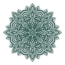 New Green Mandala Design Sticker Decor Car, Van, Fridge, Laptop, Wall Art Decal
