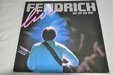 Rainhard Fendrich (Live) -Alle Zeit der Welt - 80er -Album Vinyl Schallplatte LP