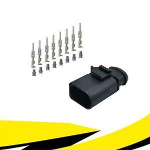 Stecker 8-polig Reparatursatz 1J0973814 für VW AUDI SKODA SEAT MT Crimp Kontakt