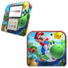 Nintendo 2DS Skin Sticker Decal Cover Vinyl Protector NEW SUPER MARIO