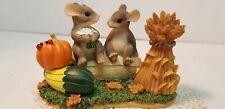 "Vtg Fitz & Floyd Charming Tails ""Harvest Time Honeys"""