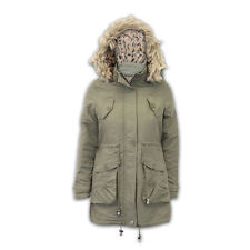 Fur Military Coats & Jackets Hood for Women
