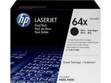 HP 64XD Dual-Pack (CC364XD) Black Original LaserJet Toner Cartridge