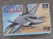 ITALERI 194 - LOCKHEED YF-22 A LIGHTNING II - RARE 1/72 SCALE MODEL KIT