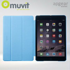 CASE IT BLUE TEXTURED  FOLIO SMART COVER CASE STAND APPLE IPAD AIR 1 / IPAD 5