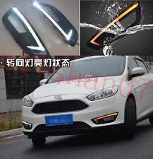 2pcs LED Driving Daytime Running Day Fog Lamp Light For Ford Focus 4 2015 2016