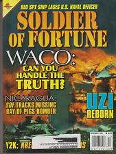 SOLDIER OF FORTUNE mag Dec 1999 WACO: Truth, Nicaragua, UZI Reborn, Red Spy Ship