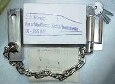 DDR  abschliessbare Türkette mit 4 Schlüssel unbenutzt RARITÄT