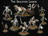 SKELETON WARBAND part 2 (Banda de Esqueletos) WARHAMMER FANTASY MORDHEIM ROL DnD