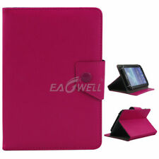 "US For 7"" ~ 10.1"" inch Tablets Rose Universal PU Folio Leather Stand Case Cover"