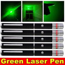 New listing 5Pc 900 Miles Green Laser Pointer Pen Single Point Beam Lazer Cat Toy Teaching