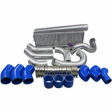 Intercooler + Piping Kit Toyota Land Cruiser LC80 1FZ-FE 1FZ T4 T70 1FZFE Blue