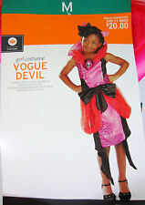 Vogue Devil Child Costume - Girls Medium (6-8) - New with Tags