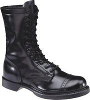 Men's HH Brand Corcoran Black 10 '' Cap Toe Jump Boot 975 D width