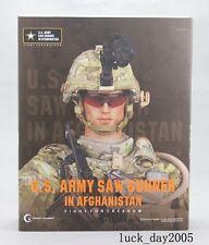 Crazy Dummy US ARMY SAW GUNNER IN AFGHANISTAN 1/6 Figure