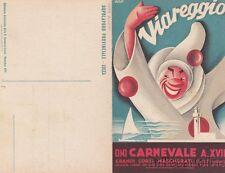 * VIAREGGIO - Carnevale 1939 - Cartolina Apribile con Programma, Ill.Bonetti