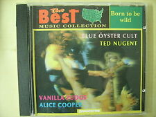 CD Born to be wild Blue Oyster cult Ted Nugent Vanilla Fudge Alice Cooper editor