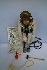 VINTAGE ACTION MAN EARLY ISSUE DEEP SEA DIVER SET WITH MANNEQUIN