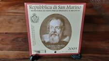 SAN MARINO 2005 - 2 Euro commemorativi FdC GALILEO GALILEI - €