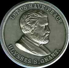 United States U.S. Grant Campaign Medal 1868 wm 50.5mm