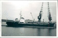 Dutch Mv Texelstroom india & milwall docks 1974 ship photo