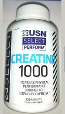 Creatine 1000 increase physical performance during exercise. 120 tablets. NEW!!