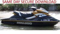 2005 Sea-Doo GTX RXP RXT WAKE Service Manual | Seadoo 4-TEC Series | FAST ACCESS