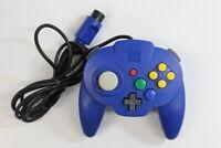 Hori Pad Mini Nintendo 64 Controller N64 Blue OEM Japan Import C568J NOT WORKING