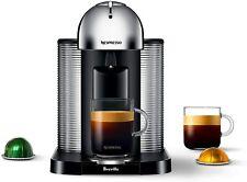 Nespresso Vertuo Coffee and Espresso Machine by Breville Chrome