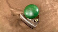 Vintage Antique Steering Wheel Metal Spinner Knob Green John Deere Oliver