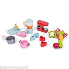 """Le Toy Van ME079 Tee Set """"Tea-Time"""" 1:12 für Puppenstube Holz NEU!     #"""