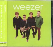 Weezer Green Album JAPAN CD with OBI 2 Bonus Track UICF1002