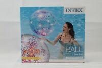 Intex 58070EP Inflatable Glitter Beach Ball, Pink Glitter summer fun Pool ball