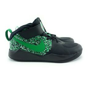 Nike Youth Team Hustle D 9 Digital Black Lucky Green Shoes Sizes 2 - 3 Y (PS)