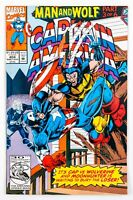 Captain America #404 (1992 Marvel) Man and Wolf - Part 2 Wolverine! NM-